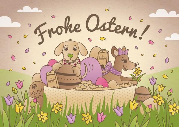 Osterbox Hundekekse 6 St
