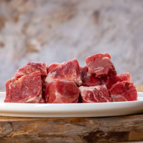 Ziegenmuskelfleisch gewürfelt 1kg