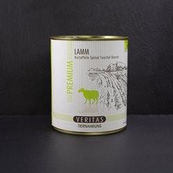 VERITAS Premium Lammfleisch mit Kartoffeln, Spinat, Fenchel und Beeren 800 g