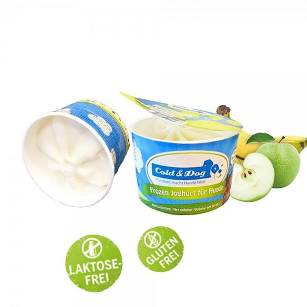 Frozen Joghurt Hunde-Eis Apfel&Banane 90 ml