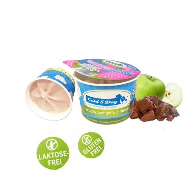 Frozen Joghurt Hähnchenleber, Apfel 90 ml