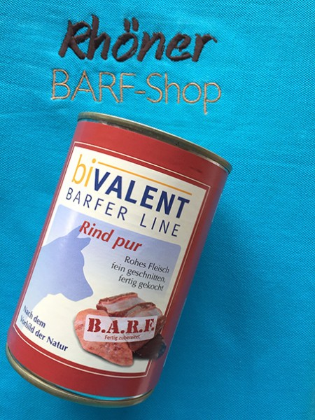 biVALENT Barfer Line Rind pur 400g